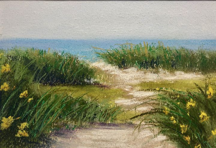 Walk on the Dune - Howard Keith Clark
