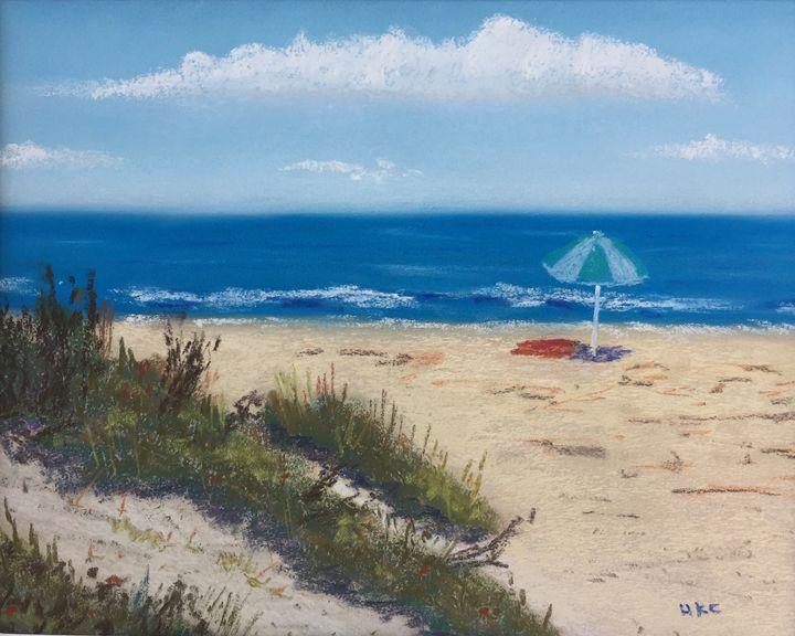 Blue Umbrella - Howard Keith Clark