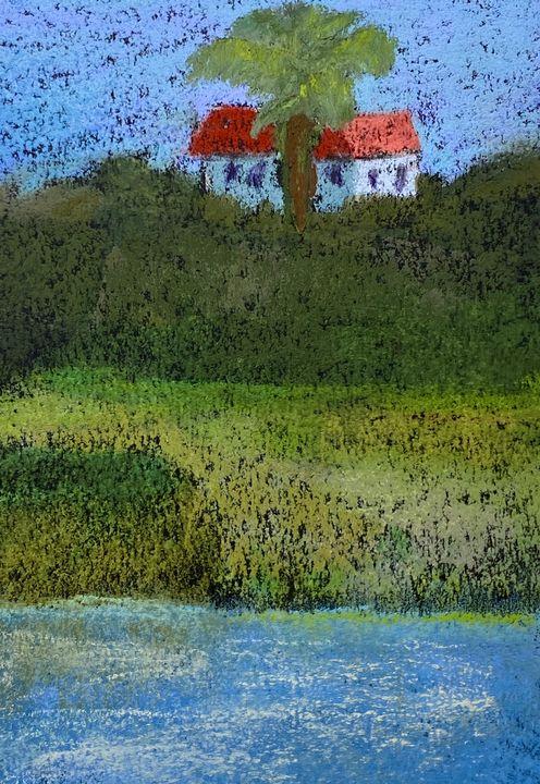 Back Bay Palm Tree - Howard Keith Clark