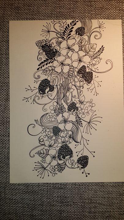 Strawberries - Little art