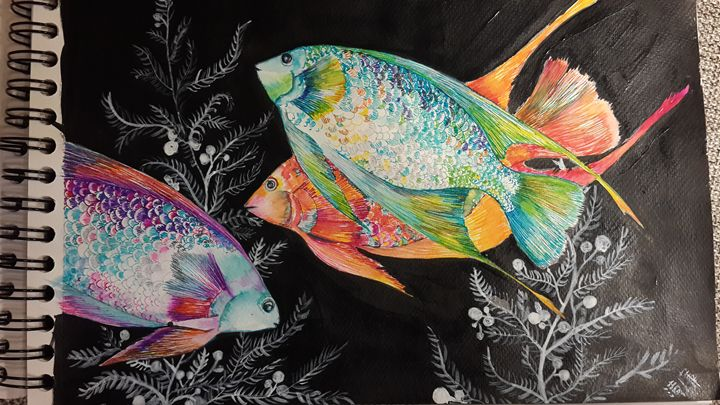 Tropical fish - Little art