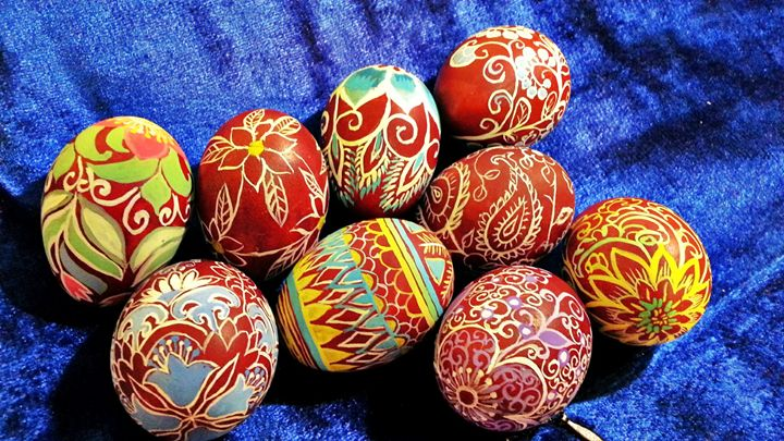 Easter Eggs - Little art