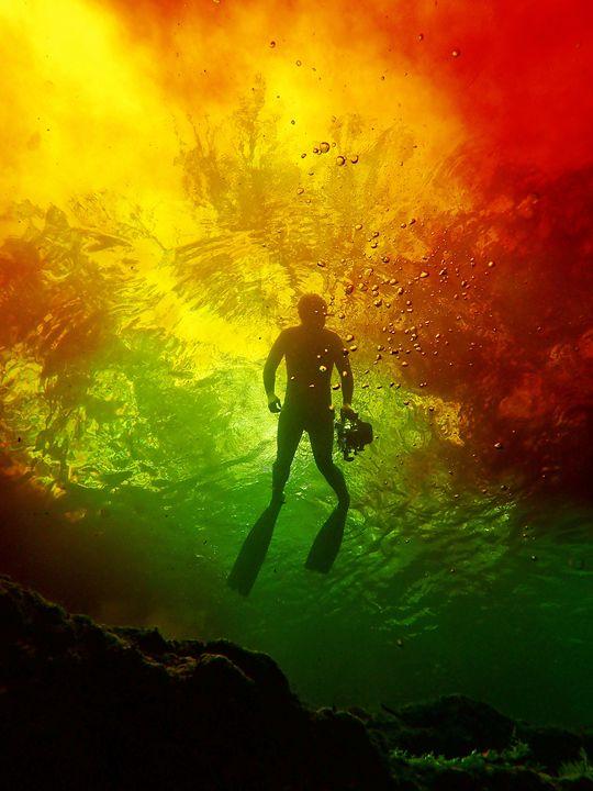 Fire Water - Joe Cruz Photography