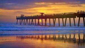 Jax Pier Sunrise