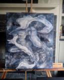 Abstract Figurative Acrylic Painting
