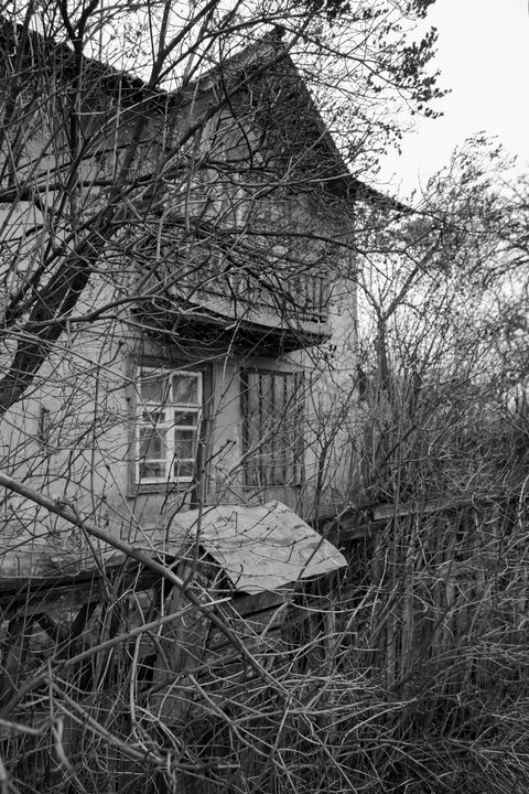 A house that is nearby. - Andrii Bilonozhko