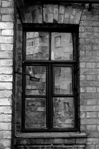 Old house. Window.