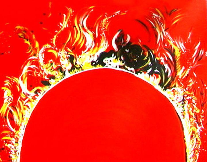 Massive Eruptions On Sun - Leah Lubin