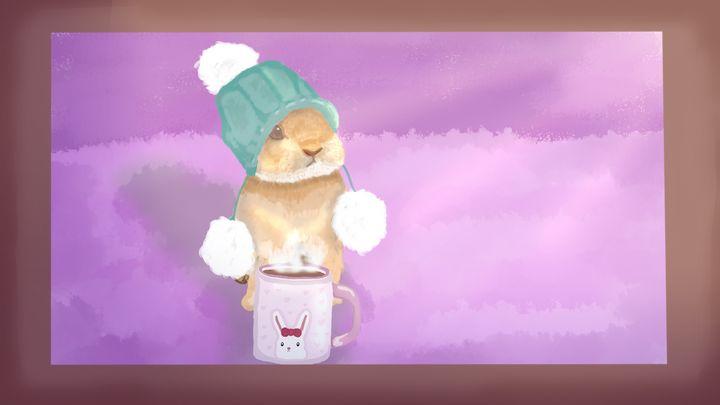 Winter Bunny - DanielleArt