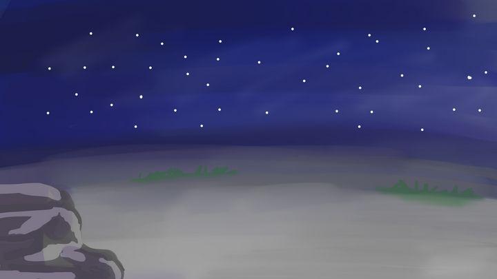 Night Sky - DanielleArt