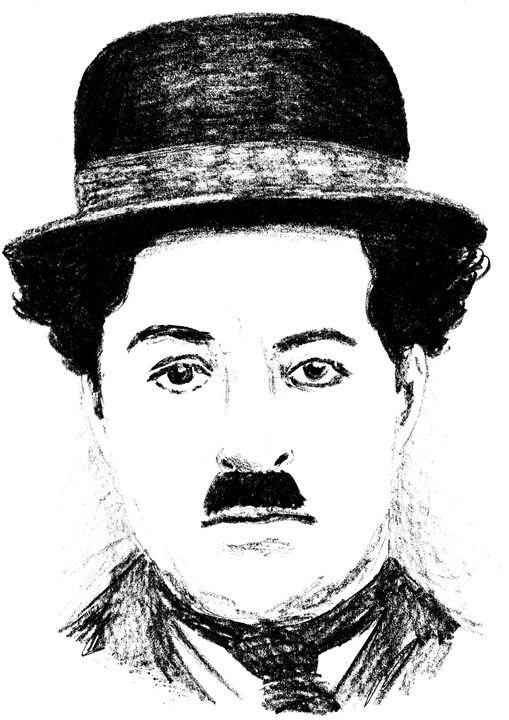 Charlie Chaplin - Printable Drawings