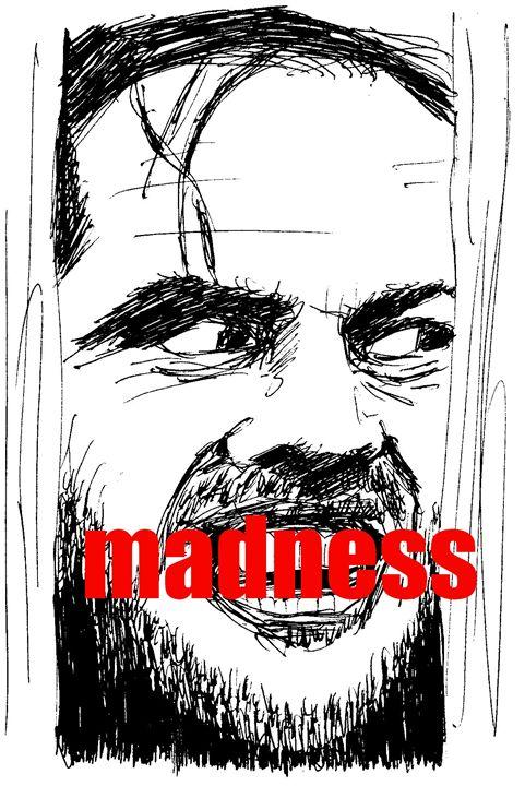 Jack Nicholson The Shining - Printable Drawings