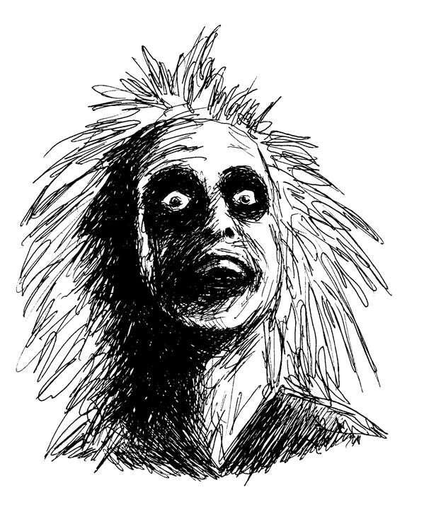 Beetlejuice Movie Character Printable Drawings Drawings Illustration Entertainment Movies Science Fiction Movies Artpal