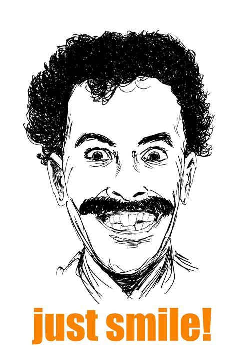 Just smile! - Printable Drawings