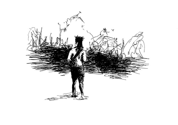 Oriental vision - Printable Drawings