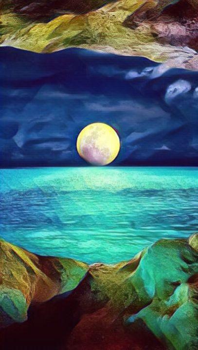 Moon kisses Ocean - Black Sheep Studios