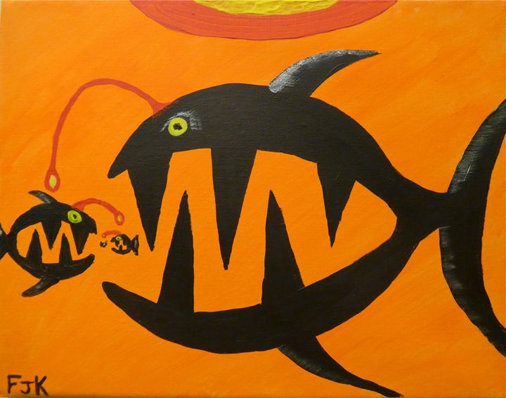 Russian Fish - Sue and Frank's Art Gallery