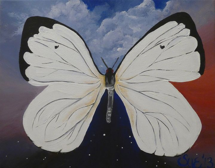 A Moth and a Day - Sue and Frank's Art Gallery