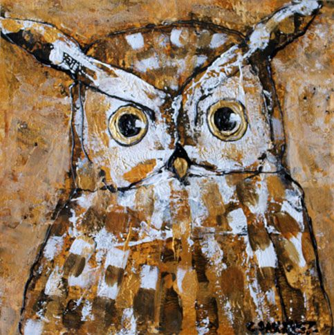Owl00 - Abstract animals & nature