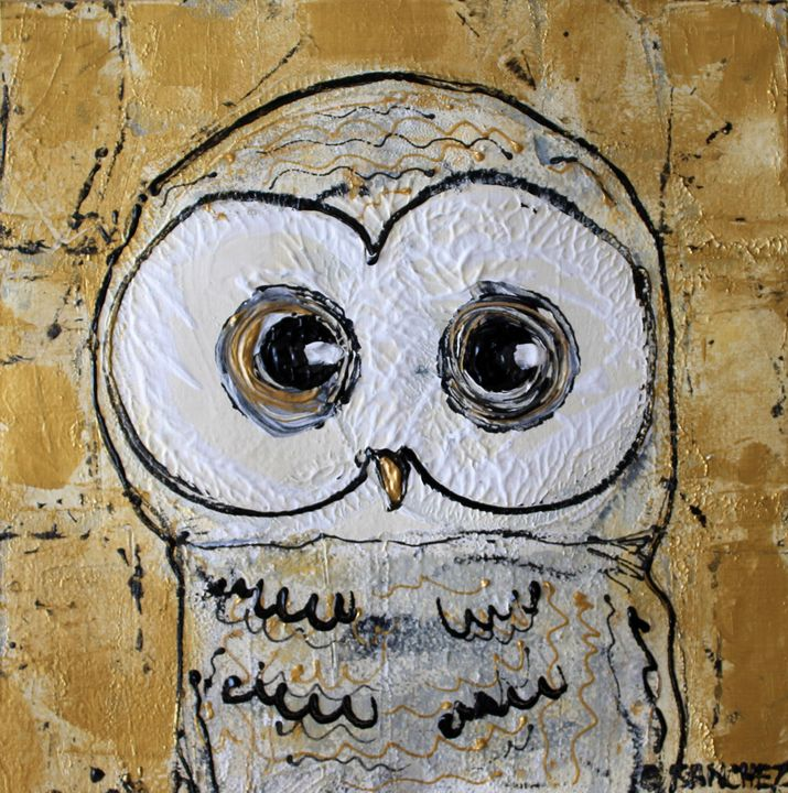 Owl01 - Abstract animals & nature
