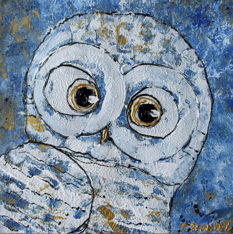 Owl02 - Abstract animals & nature