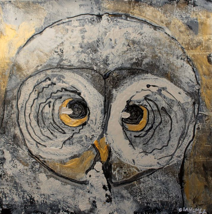 Owl03 - Abstract animals & nature