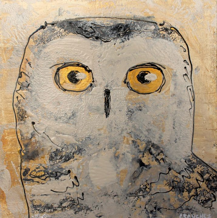 Owl04 - Abstract animals & nature