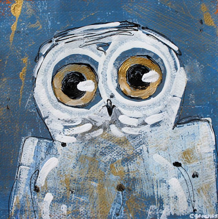 Owl05 - Abstract animals & nature