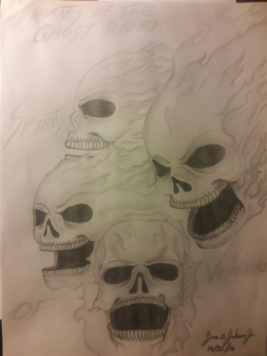 The Spirits of the Ghost Rider - !!!FREE YOUR MIND!!!