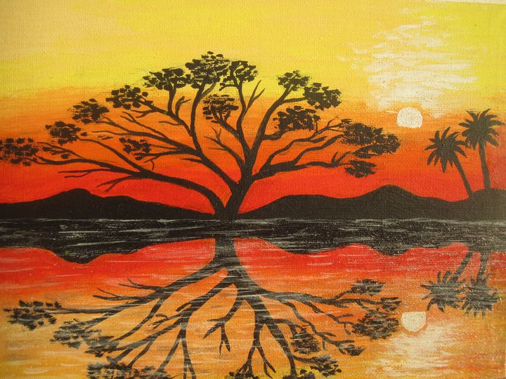 night in Africa - Irena Silecka
