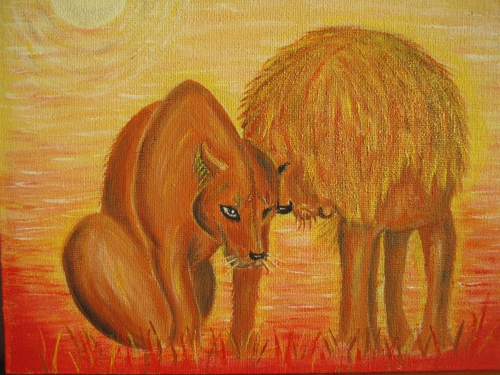 the lion's family - Irena Silecka