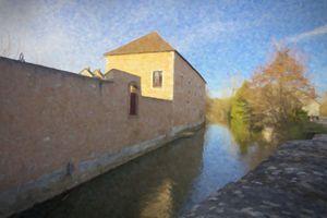 Quiet Village River