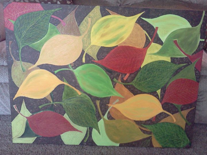 Leaf medley - Abstracts by MacLean