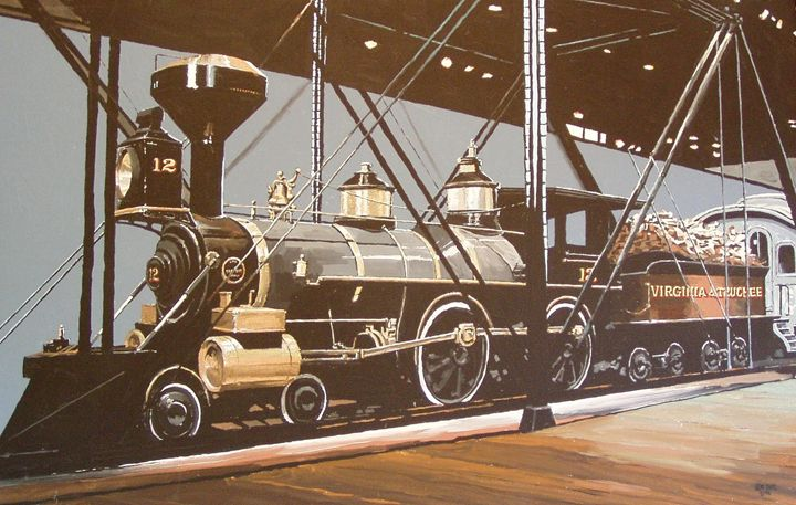 STATE RAILROAD MUSEUM, SACRAMENTO - Paul Guyer
