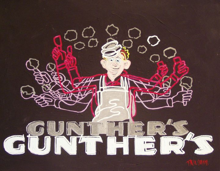 GUNTHER'S ICE CREAM, SACRAMENTO - Paul Guyer