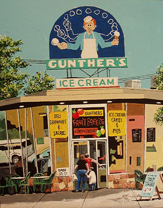GUNTHER'S ICE CREAM, SACRAMENTO - Paul Guyer