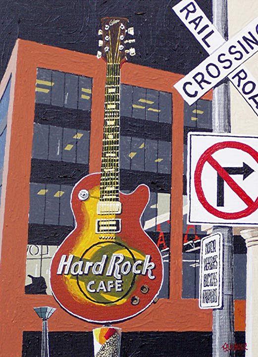 HARDROCK CAFE, SACRAMENTO - Paul Guyer