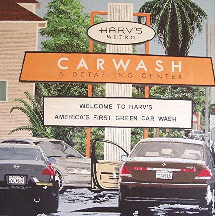 HARV'S CAR WASH, SACRAMENTO - Paul Guyer