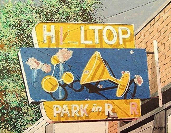 HILLTOP BAR, EAST SACRAMENTO - Paul Guyer
