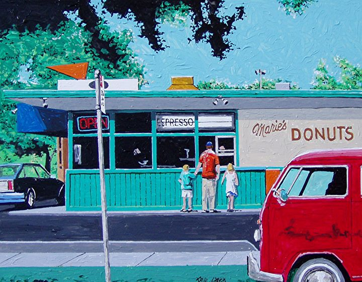 MARIE'S DONUTS, SACRAMENTO - Paul Guyer
