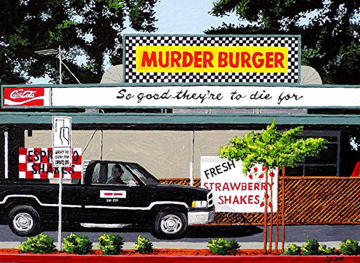 MURDER BURGER, DAVIS - Paul Guyer