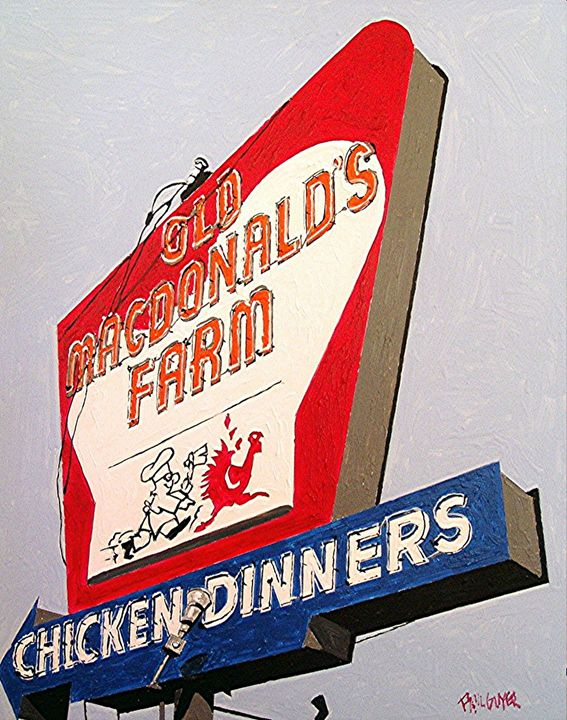 OLD MACDONALD'S FARM, JACKSON ROAD - Paul Guyer