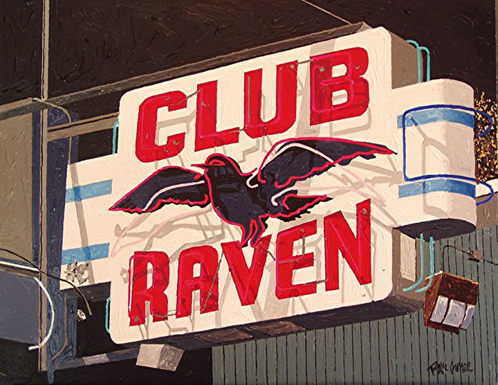 RAVEN CLUB, EAST SACRAMENTO - Paul Guyer