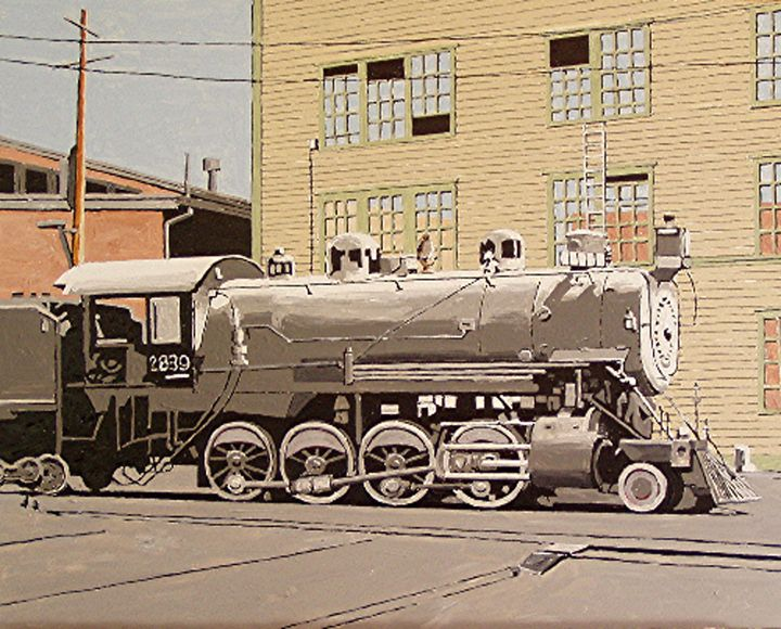 SOUTHERN PACIFIC YARDS, SACRAMENTO - Paul Guyer