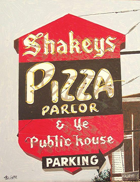 SHAKEY'S PIZZA, SACRAMENTO - Paul Guyer