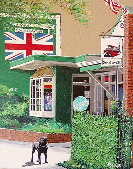 STREETS OF LONDON, SACRAMENTO - Paul Guyer