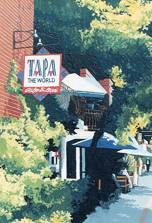 TAPA THE WORLD, SACRAMENTO - Paul Guyer
