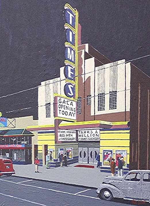 TIMES THEATRE, SACRAMENTO - Paul Guyer