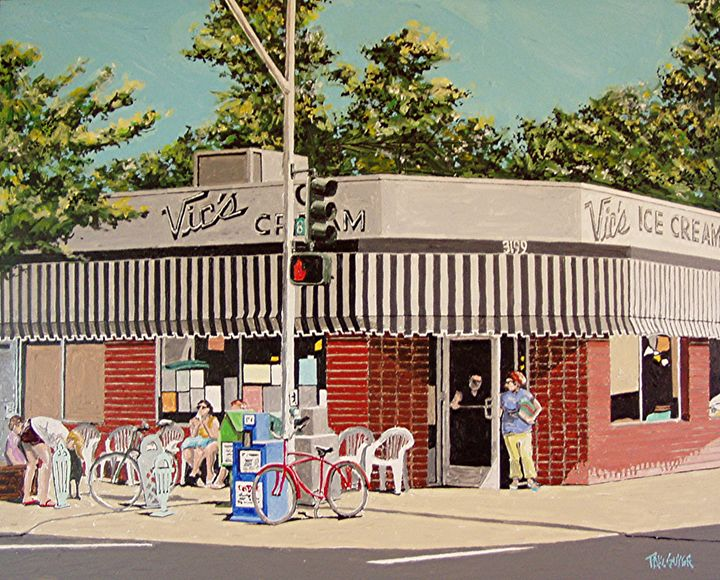 VIC'S ICE CREAM, SACRAMENTO - Paul Guyer