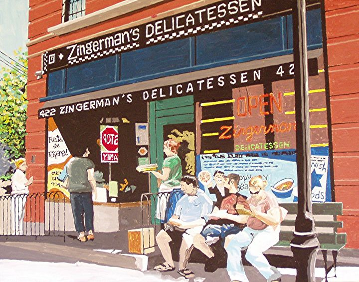 Zingerman's Deli, Ann Arbor - Paul Guyer
